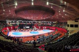 Dua taekwondoin Indonesia siap bertarung