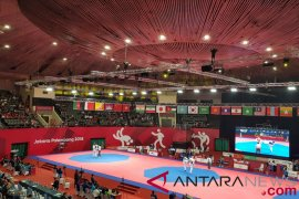 Tiga taekwondoin Indonesia tumbang di penyisihan awal