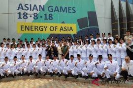 Menpora ajak Paskibraka doakan atlet Asian Games
