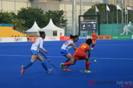Tim hoki putri China libas Chinese Taipei 9-0