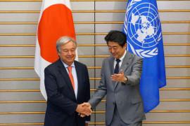 """Surat kabar: PM Jepang katakan hubungan dengan China di """"jalan normal"""""""