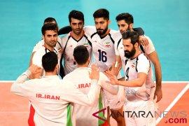Putra Iran pertahankan emas voli