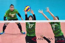 Tim voli putri Indonesia kalah dari Vietnam