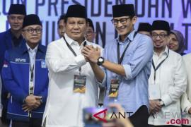 Jabar lokasi pertama deklarasi Prabowo-Sandi di daerah