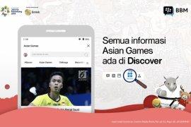 BBM hadirkan fitur tonton Asian Games dalam group chat