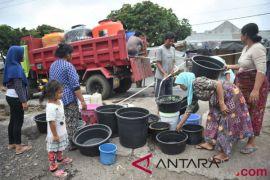 Korban gempa Lombok kesulitan dapat air bersih