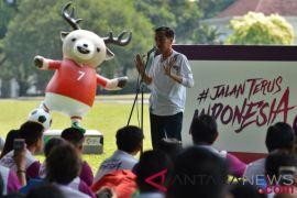 presiden soroti masyarakat indonesia malas jalan
