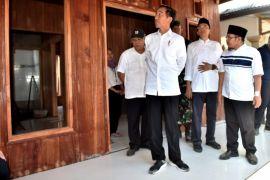Presiden kunjungi rumah Zohri di Lombok Utara
