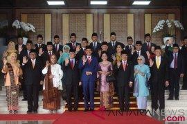 Mantan Presiden dan mantan Wapres hadiri sidang bersama