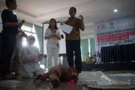 Wartawan Sukabumi dibekali ilmu forensik