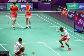 Tumbangkan juara dunia,  Fajar/Rian ke final ganda putra Asian Games 2018
