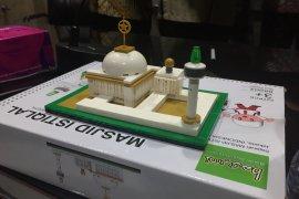 P3IMI keluarkan mainan balok susun berbentuk Masjid Istiqlal