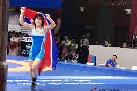 Korea Utara raih emas kelas 57 kg putri