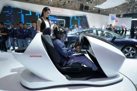 Honda kampanyekan keselamatan berkendara lewat simulator Sensing