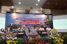 BNPB targetkan rehab rekon Lombok tuntas 2020