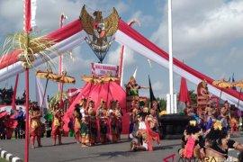 """Pastika terima """"kejutan"""" fragmentari Bali Dwipa Jaya (video)"""