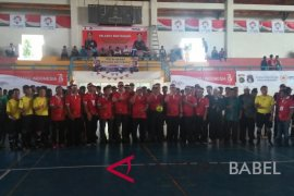 Polres Bangka Selatan gelar Kejuaraan Futsal Kapolres Cup 2018