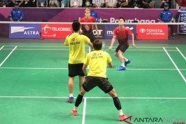 """All Indonesia final"" ganda putra, Indonesia pastikan satu medali emas"