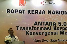 Pemerintah  minta Kantor Berita ANTARA percepat transformasi