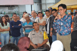 Puluhan PKL Tanah Abang ikut sosialisasi JPM