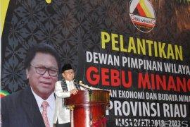 OSO lantik pengurus Gebu Minang Riau