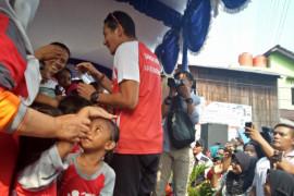 Menjelang cek kesehatan, Sandiaga bermain basket