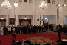 Nurbaningsih ucapkan sumpah Hakim MK di Istana
