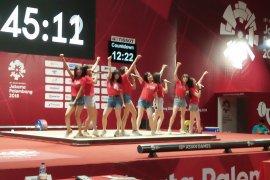 JKT48 beri aksen tersendiri di bulutangkis Asian Games 2018