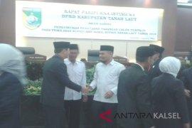 DPRD Tala Paripurna Bupati-Wakil Bupati Terpilih