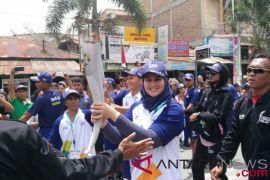 Obor Asian Games tinggalkan Riau