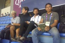 Luis Milla saksikan pertandingan Palestina kontra Taiwan
