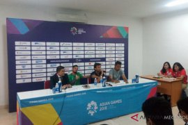 Adu kuat sepak bola negara sahabat Indonesia-Palestina