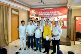 Parpol koalisi umumkan susunan tim kampanye Jokowi-Ma'ruf