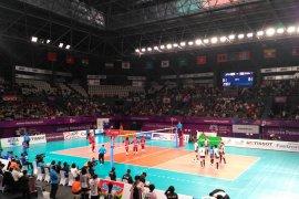 Tim voli putri Indonesia dikalahkan Jepang