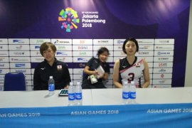 Tim putri Jepang mengeluh soal dinginnya ruangan pertandingan