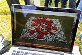 2.500 mahasiswa IPB konfigurasikan logo Asian Games
