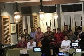 Parpol pendukung Jokowi sepakati Koalisi Indonesia Kerja