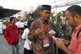 Korlap: Acara pemberangakatan Jokowi-Ma'ruf ke KPU sederhana