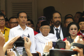 Jokowi: Saya ingin teruskan perjalanan Indonesia Maju
