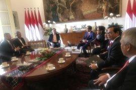 Anwar Ibrahim temui Jokowi di Istana Bogor