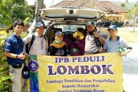 IPB lakukan pendataan pertanian Kabupaten Lombok Utara yang terdampak bencana