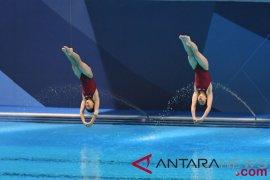 Atlet putri loncat indah Korut ingin lampaui China