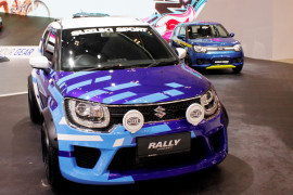 Ertiga-Ignis andalan penjualan Suzuki selama GIIAS