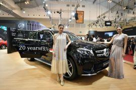 Mercedes-Benz rayakan 20 tahun kemunculan SUV mewah di Indonesia