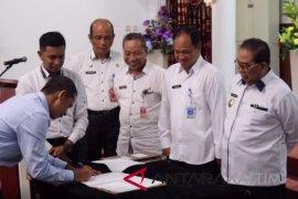 Kepala OPD Paser  tandatangani Pakta Integritas