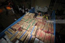 Pengiriman Bantuan Gempa Lombok