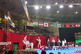 Indonesia dan Thailand berbagi emas nomor poomsae
