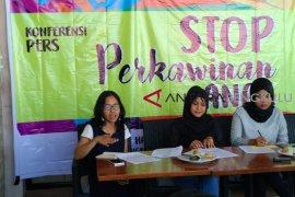 Perkawinan anak masih marak di Bengkulu