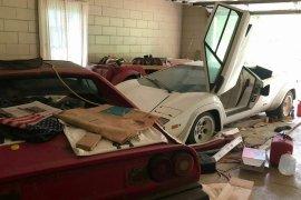 Perempuan ini temukan koleksi mobil eksotis di garasi neneknya