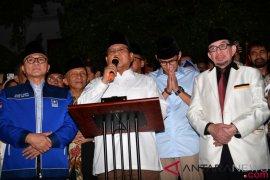 """Prabowo: Terima kasih PAN-PKS """"legowo"""""""